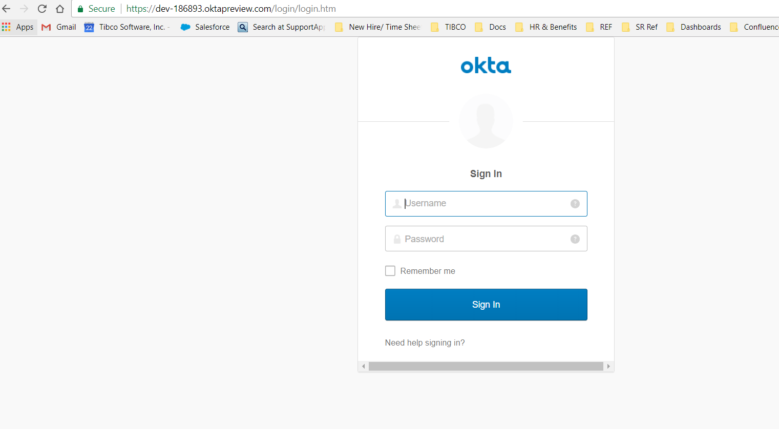 How to configure OpenID connect authentication with Okta on the