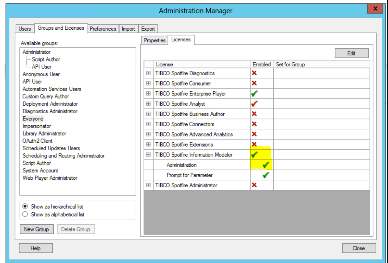 How To Enable Disable Data Source Tab In Information Designer