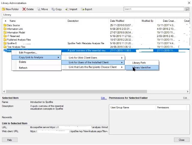 Screenshot van TIBCO Spotfire Analyst software.