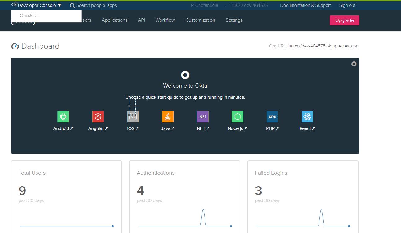 Afbeelding van TIBCO Spotfire Server tools.